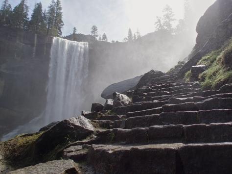 Vernal Falls (the mist falls)